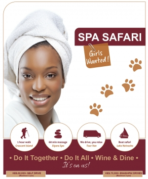 Spa Safari | Girls Wanted!